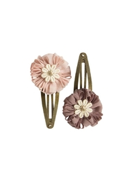Maileg Flower Hair Clips - Front full body