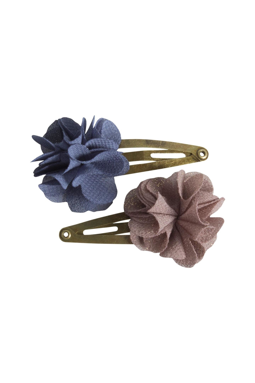 Maileg Flower Hair Clips - Front Cropped Image