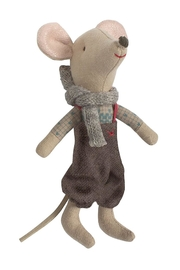 Maileg Winter Toy Mouse - Product Mini Image