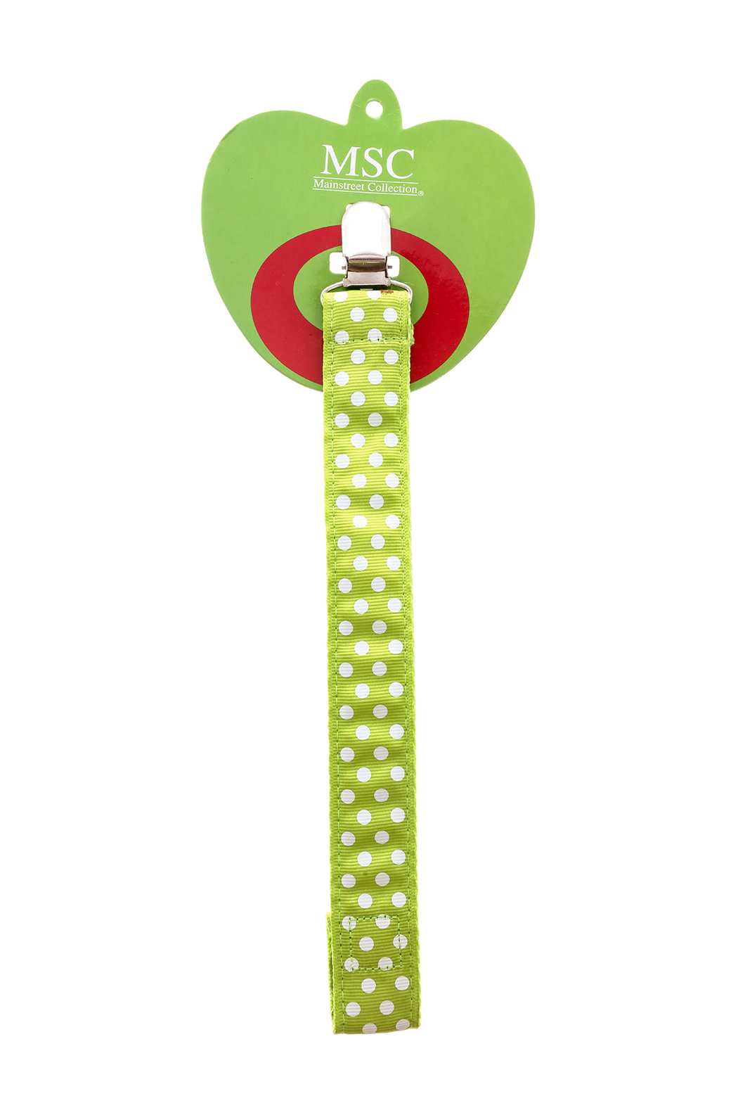 Main Street Collection Pacifier Holder - Front Cropped Image