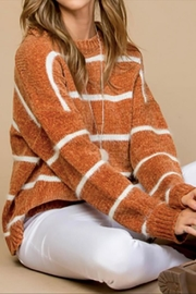 Main Strip Camille Sweater - Side cropped