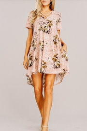 Main Strip Casual Floral Dress - Product Mini Image