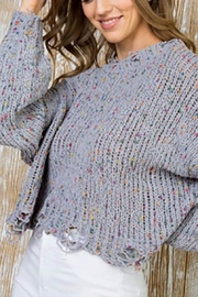 Main Strip Jane Sweater - Front cropped