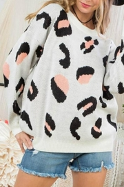 Main Strip New-Wave Leopard Sweater - Product Mini Image