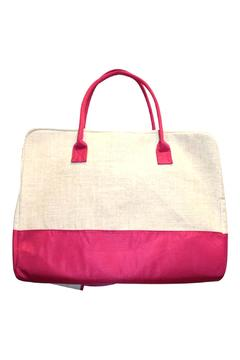 Mainstreet Collections Linen Duffle Bag - Product List Image