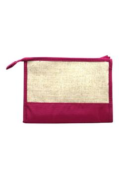 Mainstreet Collections Linen Zipper Pouch - Product List Image