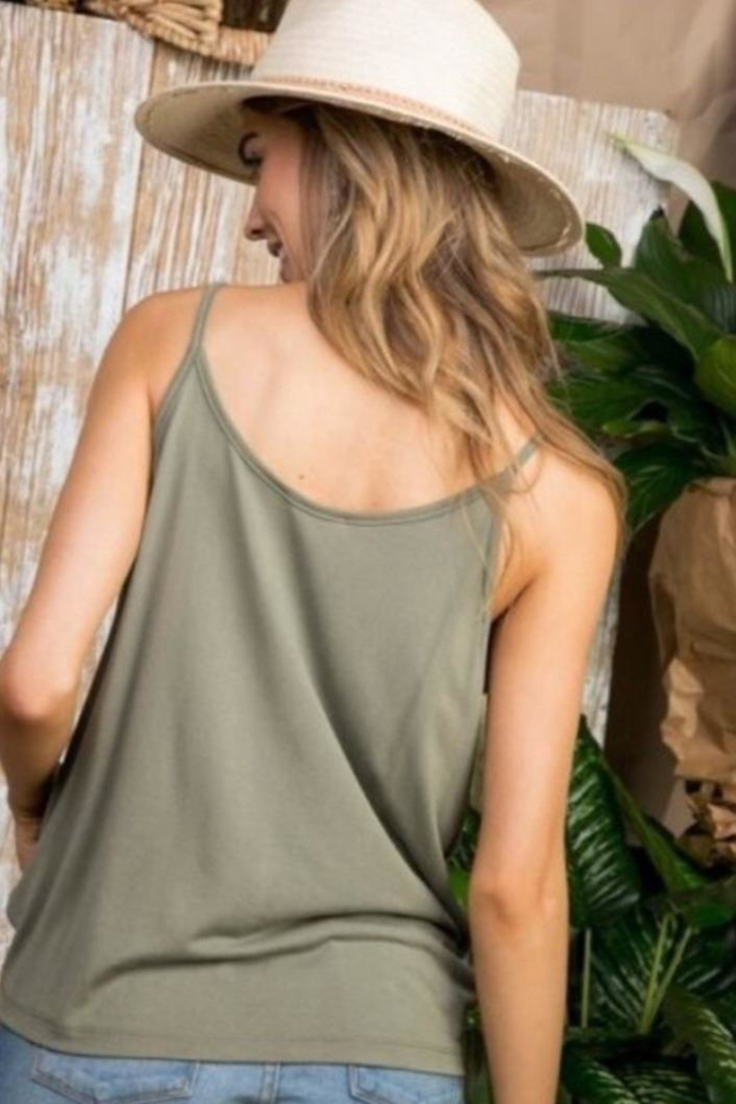 Mainstrip Olive Knot Tank - Front Full Image