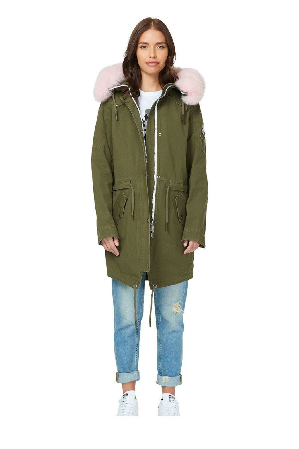 Moose Knuckles  Mainville Canvas Parka - Front Cropped Image