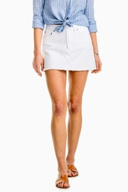 Southern Tide Maisie Denim Skirt - Product Mini Image