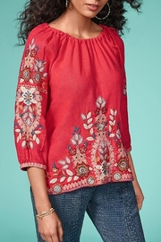 Johnny Was Maisie Fruit Blouse - Front cropped