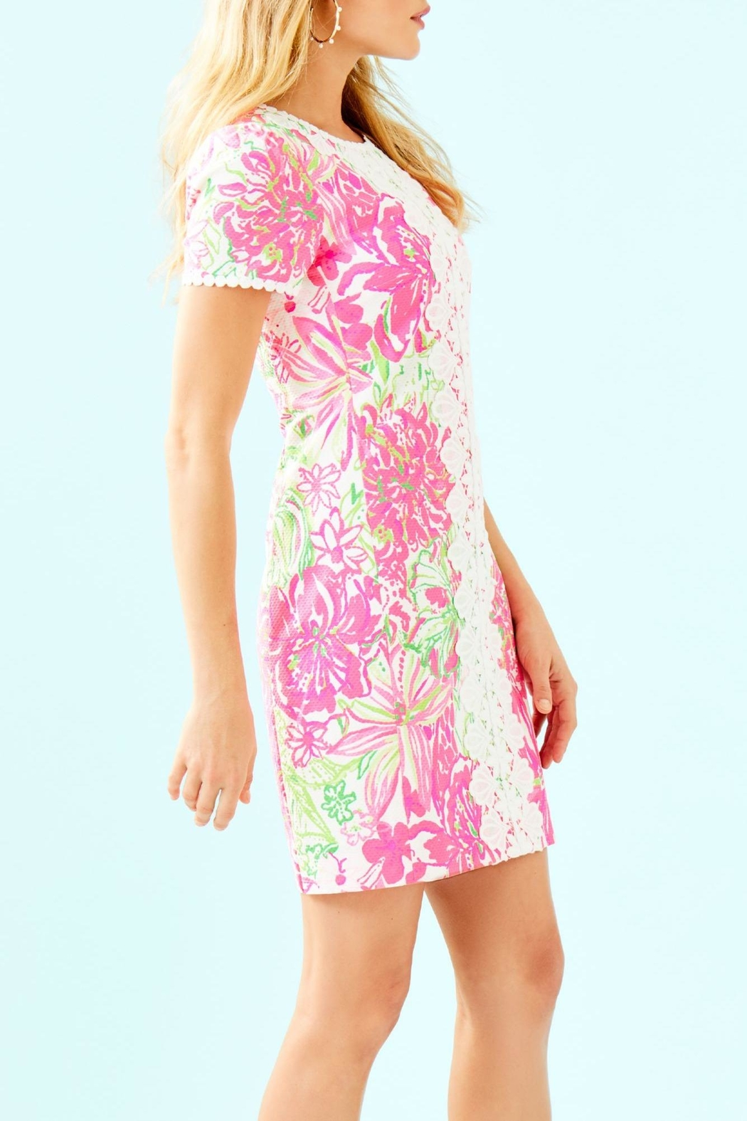 Lilly Pulitzer Maisie Stretch Shift - Side Cropped Image
