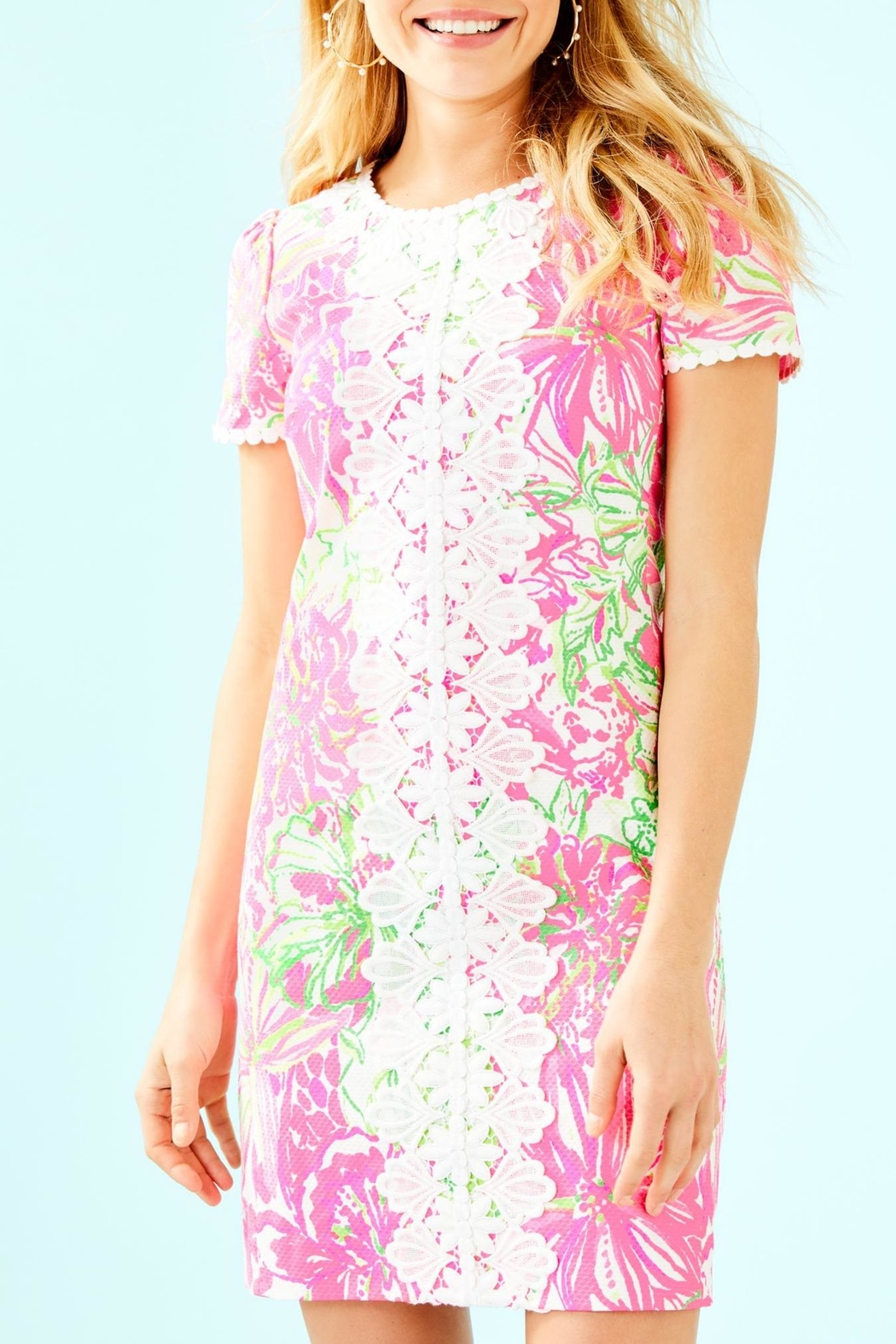 Lilly Pulitzer Maisie Stretch Shift - Main Image