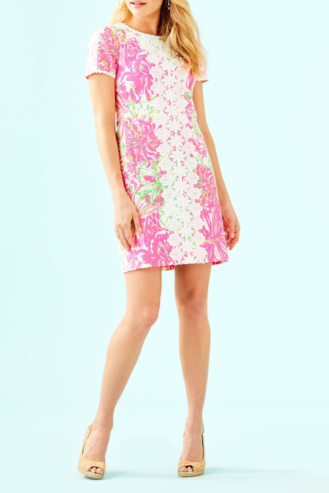 Lilly Pulitzer Maisie Stretch Shift - Back Cropped Image