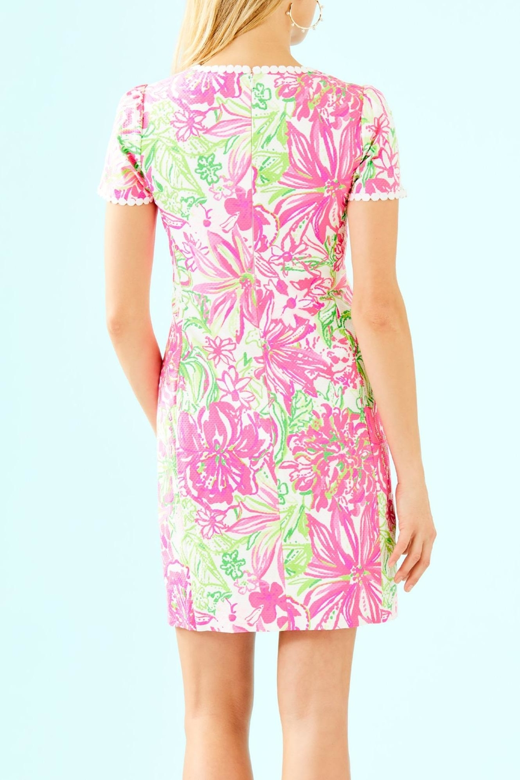 Lilly Pulitzer Maisie Stretch Shift - Front Full Image