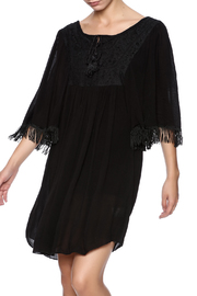 Maison Coupe Fringe Dress - Product Mini Image