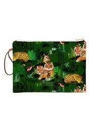 Maison Baluchon Large Clutch Jungle - Product Mini Image