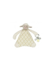 Maison Chic Lamb Paci Clip - Front cropped