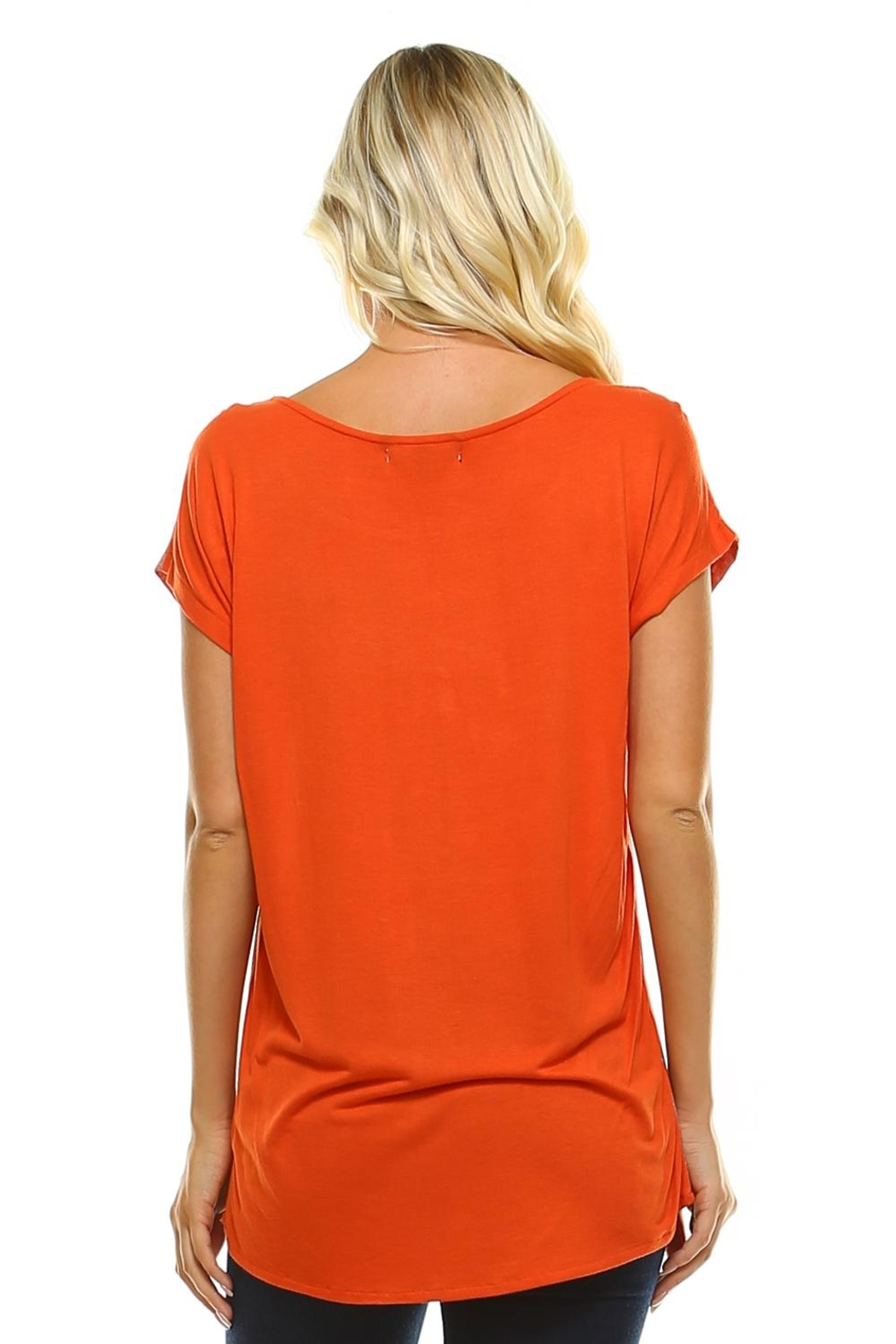 Maison Coupe Printed Woven Top - Side Cropped Image