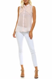 Maison Coupe Woven Top - Front full body