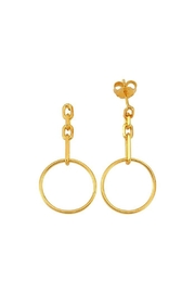 Maison Irem Earrings Lieke In Gold - Product Mini Image
