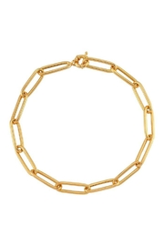 Maison Irem Necklace Lenon In Gold - Front cropped