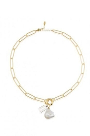 Maison Irem Pearl Razor Necklace - Product Mini Image