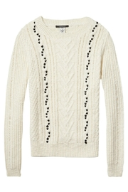 Maison Scotch Cable Stitched Sweater - Other
