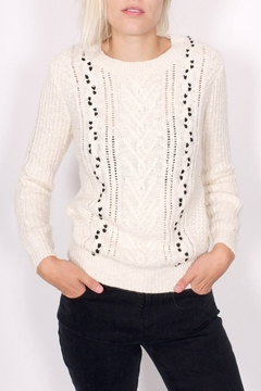 Shoptiques Product: Cable Stitched Sweater
