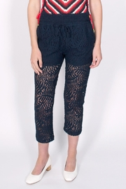 Maison Scotch Cropped Lace Trousers - Product Mini Image