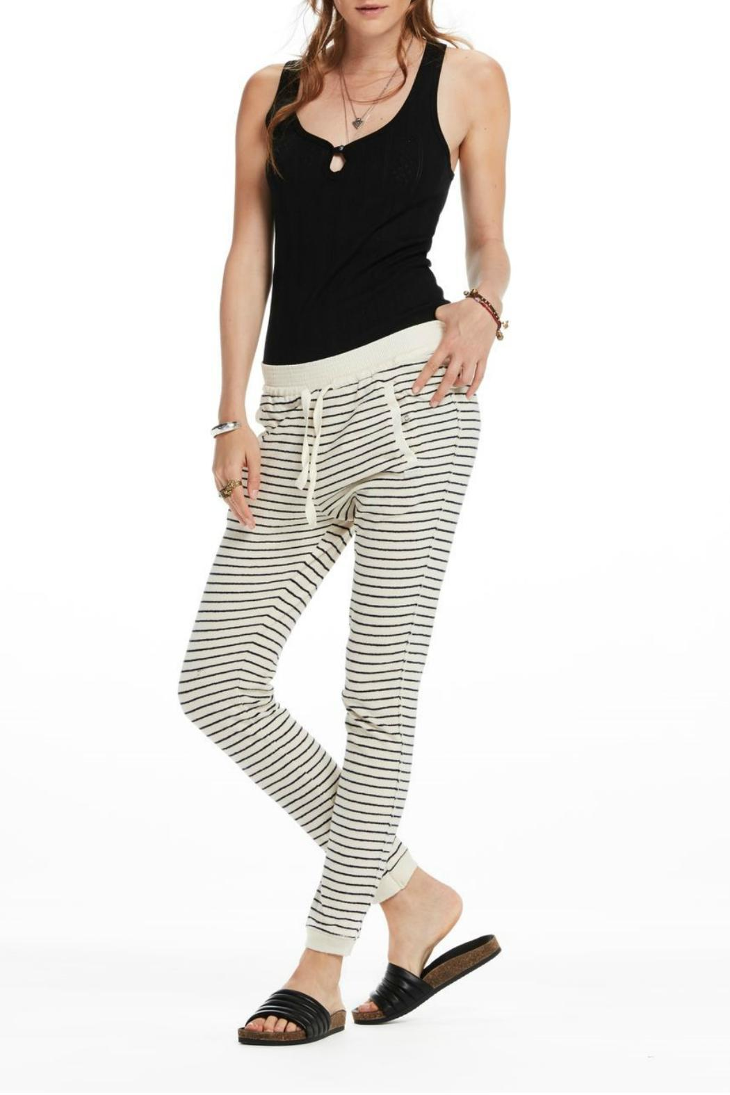 Maison Scotch Detailed Sweat Pants - Front Cropped Image