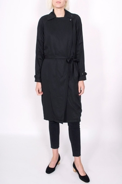 Shoptiques Product: Drapey Trench Coat
