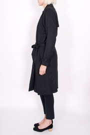 Maison Scotch Drapey Trench Coat - Front full body