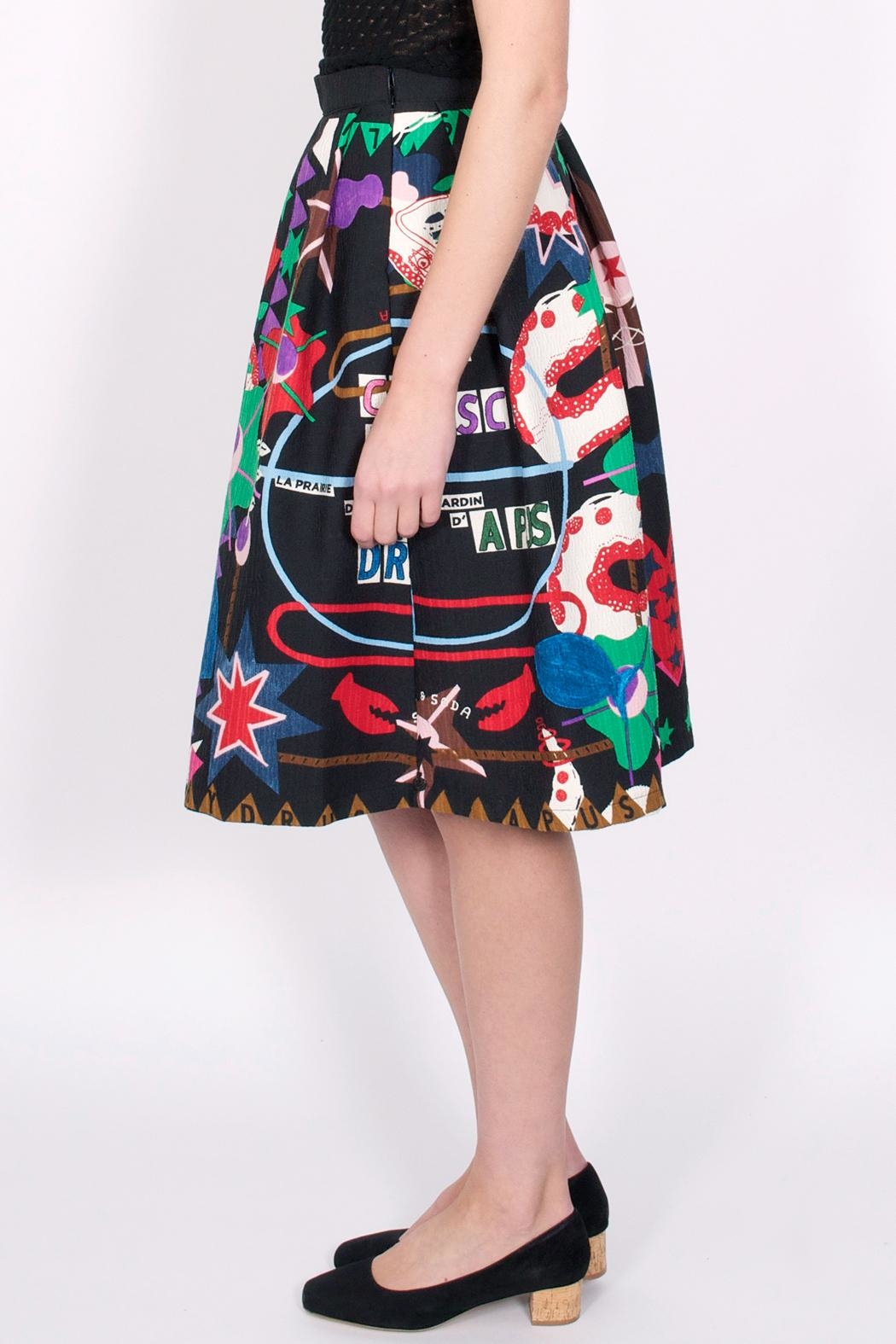 49073dcd7a Maison Scotch Flaring Printed Skirt from Williamsburg by Life ...