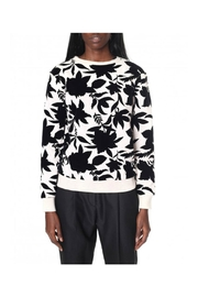 Maison Scotch Floral Artwork Sweater - Product Mini Image