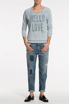 Shoptiques Product: Hello Love Sweatshirt