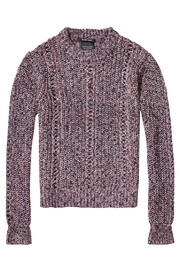 Maison Scotch Multi-Color Crew Sweater - Front full body