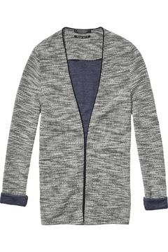 Shoptiques Product: Piped Sweat Blazer
