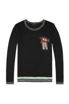 Shoptiques Product: Pullover Eye Embroidered