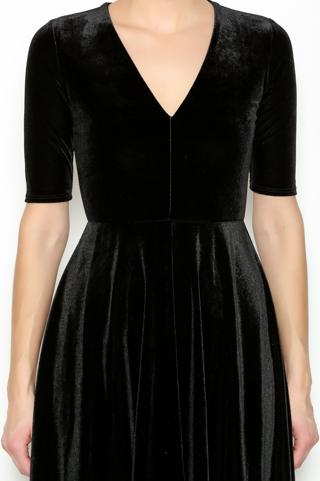 MaiTai Black Velvet Dress from Alaska by Apricot Lane - Anchorage u2014 Shoptiques