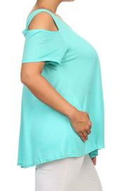 MaiTai Cold Shoulder Top - Front full body