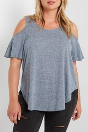 MaiTai Cold Shoulder Top - Product Mini Image