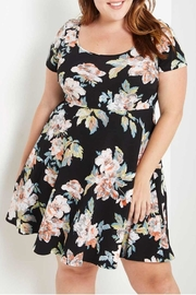 MaiTai Floral Tee Dress - Front cropped
