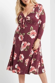MaiTai Floral Tie Dress - Product Mini Image