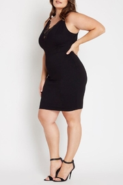 MaiTai Black Bodycon Dress - Product Mini Image