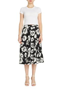 Shoptiques Product: Midnight Bloom Skirt