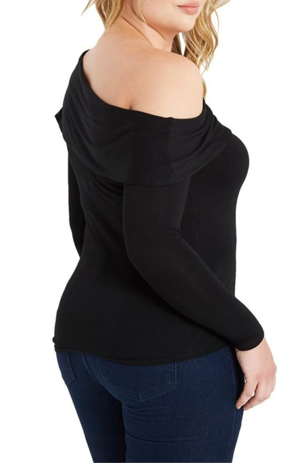 MaiTai One Shoulder Top - Side Cropped Image