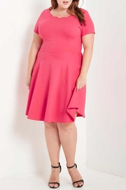MaiTai Scalloped Skater Dress - Product Mini Image