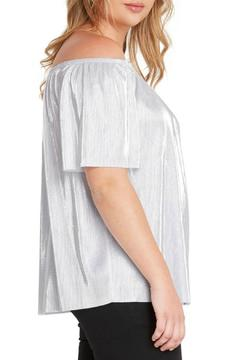 MaiTai Silver Off-Shoulder Top - Product List Image