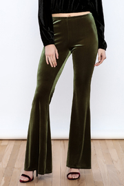 MaiTai Velvet Flare Pants - Product Mini Image