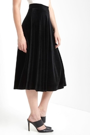 MaiTai Velvet Midi Skirt - Product Mini Image